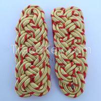 Gold & Red 3 PLY Shoulder Board