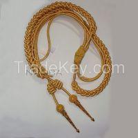 Uniform Gold Wire Aiguillette