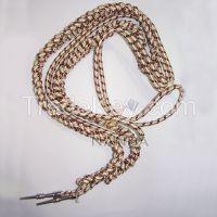 Mylar Wire Aiguillette Silver
