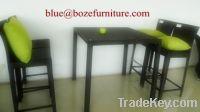 Garden Furniture Fashion Rattan Bar Table and Chair BZ-B007