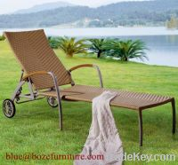 Outdoor Furniture Good Quality Chaise Lounge / Lounge Bed BZ-C028