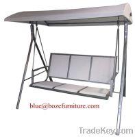 Patio Furniture Three Seats Hammock Swing Chair (BZ-W026)