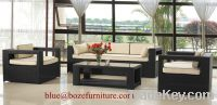 Patio Furniture Rattan / Wicker Sofa Set