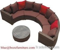 Outdoor Furniture Good Quality Rattan / Wicker Sofa Set (BZ-SF005)