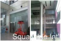 Mobile telescoping hydraulic boom lift