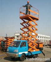 car-carrying scissor lift table