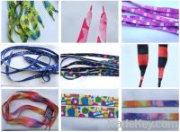 Sell Shoe Laces- printed style- fashion shows
