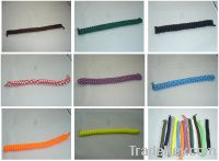Sell curly shoe laces/self tying shoe laces