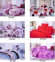 Sell cotton printed bedding set