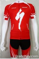 short cycling wear or jersey