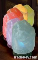White Salt Colored Lamps