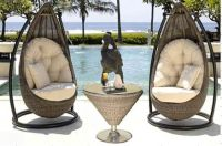 Sell  Nice Rattan hanging chairs outdoor furniture PR-001