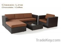 Sell Rattan Sofa Living Set Outdoor furniture PRS-045