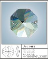 Sell faceted octagonal crystal beads