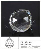 Sell crystal faceted chandelier ball