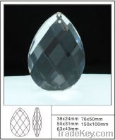 Sell nice crystal faceted chandelier parts