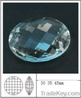 Sell crystal circle beads for chandelier