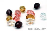 Sell bicone glass beads for jewelry