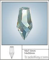 Sell crystal pointed beads for chandelier