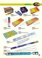 Supply different kinds of sparklers fireworks
