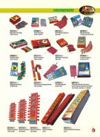 Sell different kinds of fireworks and firecrackers