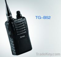PC programmable TG-B52 two way radio with clear voice prompt 16 channe