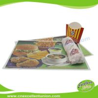 EX-PL-003 Custom Logo printed disposable paper tray liner