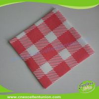EX-AP-012 Colored Airlaid Paper Napkins, Absorbent Tissue Paper, Airlaid Towels, Airlaid Cutlery Bag