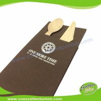 EX-AP-003 Colored Airlaid Paper Napkins, Absorbent Tissue Paper, Airlaid Towels, Airlaid Cutlery Bag
