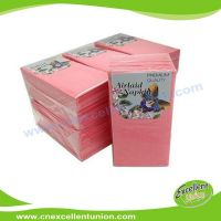 EX-AP-008 Colored Airlaid Paper Napkins, Absorbent Tissue Paper, Airlaid Towels, Airlaid Cutlery Bag