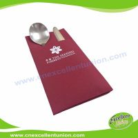 EX-AP-004 Colored Airlaid Paper Napkins, Absorbent Tissue Paper, Airlaid Towels, Airlaid Cutlery Bag