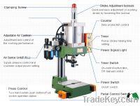 Sell pneumatic button machine