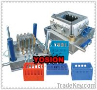 china plastic fruit crate mould
