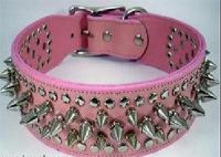 Sell genuine leather dog collars