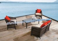 POLY RATTAN FURNITURE, OUTDOOR FURNITURE, DINING SET