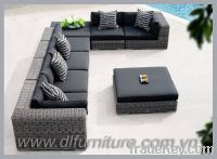 Sell poly rattan furniture