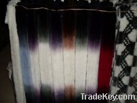 100% Rabbit Fur Scarf / Dip Dyeing / Many Colors