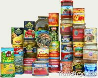 Sell Canned Fruits & Vegetables