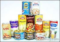 Sell prime food grade tinplate sheets for vegetable and beverage cans