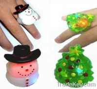 Sell Christmas gifts flashing finger ring