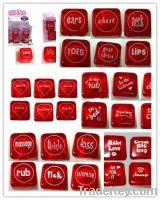 Sell flashing Valentine's dice