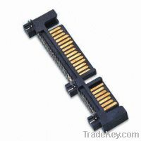 Sell SATA 15P + 7P Male Connector, Available in 10 to 64 Positions