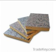 Sell Phenolic Foam Board with Granite Rock Chip Surface