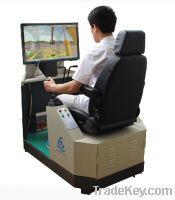 Sell excavator training simulator