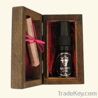Sell Amber oil to damaged skin care in wooden box