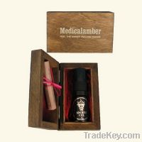 Sell Amber oil to hair care in wooden package
