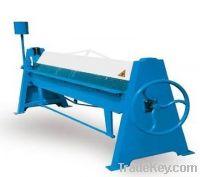 Sell Hand Folder, manual folder Box And Pan Brakes machinery manufactur
