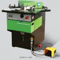 QF28Y4x200 Hydraulic corner notcher for aluminum plate sheet manufactu