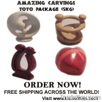 Toto Soapstone Carvings Package