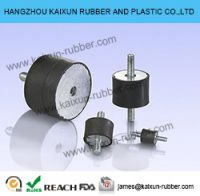 Standard rubber shock absorber rubber bumper rubber products